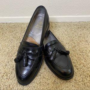 Alden New England Black Tassel Loafers B/D